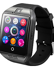 cheap -Q18 Smart Watch BT Fitness Tracker Support Notify/ Heart Rate Monitor/ Hands-Free Calls with Camera & SIM-card Slot Sports Smartwatch Compatible Samsung/ Android/ Iphone