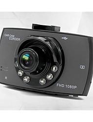 Недорогие -g30 480p / 720p / 1080p Автомобильный видеорегистратор 120° Широкий угол 4.3 дюймовый Капюшон с Обноружение движения 6 инфракрасных LED Автомобильный рекордер