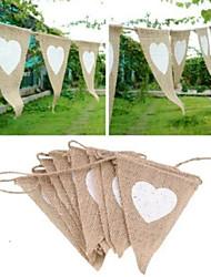 cheap -Unique Wedding Décor Eco-friendly Material / Jute Wedding Decorations Christmas / Wedding / Anniversary Beach Theme / Garden Theme / Asian Theme Spring / Summer / Fall
