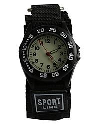 cheap -Wrist Watch Quartz Black / Blue Water Resistant / Waterproof Analog Casual Fashion - Black Black / Blue One Year Battery Life / Tianqiu 377
