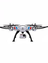 cheap -RC Drone SYMA X8G 4CH 6 Axis 2.4G With HD Camera 5.6MP RC Quadcopter Headless Mode / 360°Rolling / Hover RC Quadcopter / Remote Controller / Transmmitter / With Camera