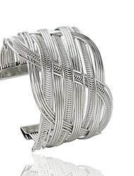cheap -Women's Cuff Bracelet Fashion Alloy Bracelet Jewelry Golden / Silver For