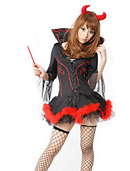 cheap -Angel / Devil Zombie Vampire Cosplay Costume Party Costume Women's Christmas Halloween Carnival Festival / Holiday Terylene Women's Carnival Costumes Vintage