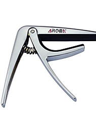 cheap -Professional Capos Guitar Metal Musical Instrument Accessories Silver