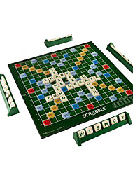 cheap -Board Game Scrabble Clue Board Game Risk Board Game Catan Board Game Plastic Professional English Kid's Adults' Toys Gifts
