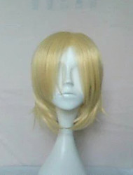cheap -anime yuri on ice yuri on ice plisetsky yuri cospaly wigs short blonde synthetic hair
