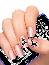 cheap -latest-style-superior-festival-series-pattern-nail-art-stamping-image-template-plates