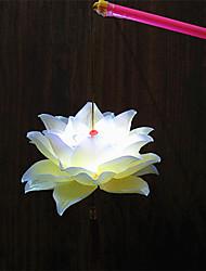 Недорогие -1pc водить батареи светильника этапа рождества цветок портативный ночного света
