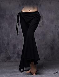 cheap -Belly Dance Bottoms Women's Training Cotton Ruffles / Tassel Sleeveless Dropped Pants