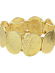 cheap -Women's Bead Bracelet Ladies Alloy Bracelet Jewelry Golden For Party Daily
