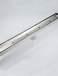 cheap -Drain Contemporary Stainless Steel 1pc - Bathroom Floor Mounted