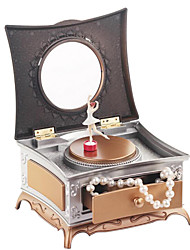 cheap -Music Box Musical Jewellery Box Unique Plastic Women's Girls' Kid's Adults Graduation Gifts Toy Gift