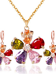 cheap -Women's Bridal Jewelry Sets Earrings Jewelry Rainbow For Wedding Party