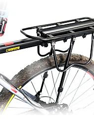 cheap -Bike Cargo Rack Max Load 50 kg Adjustable Reflective Logo Easy to Install Aluminium Alloy Road Bike Mountain Bike MTB - Black