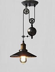 cheap -1-Light 23cm Mini Style Pendant Light Metal Cone Others Retro 110-120V / 220-240V