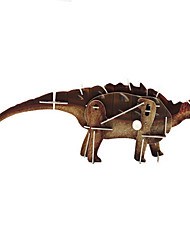cheap -Children'S Puzzle Will Move Around The World Of Dinosaur Animals Diy Power 3D Assembled A Spring Puzzle
