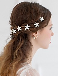 cheap -Alloy Flowers / Headwear / Hair Tool with Floral 1pc Wedding / Special Occasion / Casual Headpiece