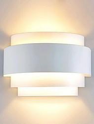 cheap -Outdoor Flush Mount Wall Lights 60W Pathway Metal Semicircle Wall Light Modern Contemporary 110-120V 220-240V