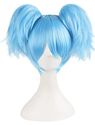 cheap -Assassination Classroom Cosplay Cosplay Wigs Women's 10 inch Synthetic Fiber Anime Wig