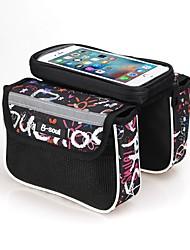 cheap -B-SOUL 2.5L Cell Phone Bag Bike Frame Bag Top Tube Touch Screen Multifunctional Wearable Bike Bag Nylon Bicycle Bag Cycle Bag iPhone X / iPhone XR / iPhone XS Cycling / Bike / iPhone XS Max