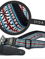 cheap -High-Grade Embroidery Guitar Strap General Bakelite Guitar Strap