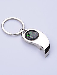 cheap -Bottle Openers Compasses Directional Multi Function Alloy Metal Hiking Camping Outdoor Travel
