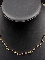 cheap -Women's Choker Necklace Layered Fashion Alloy Necklace Jewelry For Daily Casual Work