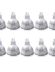 cheap -ZDM 10 Pack, MR16/GU5.3 35W LED Bulbs 210LM, 12V DC, 20 Watt Incandescent Equivalent, Ultra Bright Energy Saving Spotlight