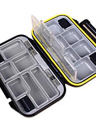 Недорогие -Коробка для рыболовной снасти Водонепроницаемый 1 Поднос пластик 3 cm 11.5 cm