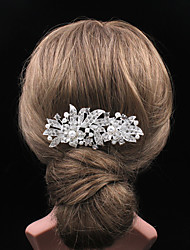 cheap -Women's Vintage / Party Silver Hair Comb