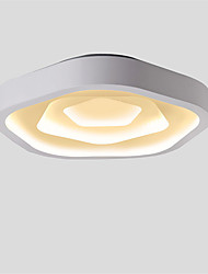 cheap -CXYlight Flush Mount Ambient Light Painted Finishes Metal Mini Style, LED 110-120V / 220-240V Warm White / White LED Light Source Included / LED Integrated