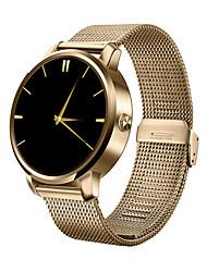 abordables -Montre Smart Watch pour iOS / Android Etanche Minuterie / Chronomètre / Moniteur d'Activité / Moniteur de Sommeil / Moniteur de Fréquence Cardiaque / Mode Mains-Libres / Contrôle des Fichiers Médias