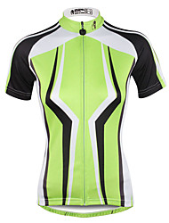 cheap -ILPALADINO Women's Short Sleeve Cycling Jersey Plus Size Bike Jersey Top Mountain Bike MTB Road Bike Cycling Breathable Quick Dry Ultraviolet Resistant Sports Clothing Apparel / Stretchy