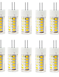 Недорогие -2.5 W Двухштырьковые LED лампы 250-300 lm G4 T 33 Светодиодные бусины SMD 2835 Водонепроницаемый Декоративная Тёплый белый Холодный белый 220-240 V / 10 шт. / RoHs