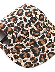 cheap -Dog Bandanas & Hats Dog Clothes Leopard Cotton Costume For Pets Summer Men's Women's Holiday Fashion