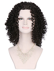 cheap -new afro kinky curly synthetic wigs black hair short wig for black women style beatuifu cut wig Halloween