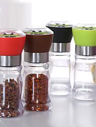 cheap -130mm Acrylic Manual Pepper Grinder Salt Spices Miller Shaker