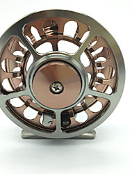 cheap -Fishing Reel Fly Reel / Ice Fishing Reels 1:1 Gear Ratio+2 Ball Bearings Hand Orientation Exchangable Fly Fishing / Bait Casting - HR-90