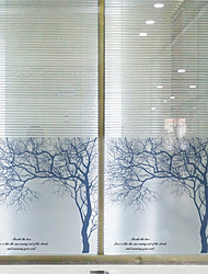 cheap -Window Film & Stickers Decoration Contemporary Art Deco PVC / Vinyl Window Sticker / Dining Room / Bedroom / Office / Kids Room / Living Room