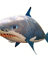 cheap -RC Shark Remote Control Animal Flying Shark Shark Clown Fish Inflatable Realistic Movement Air Swimmer Nylon For Boys' Girls' / CE Certified