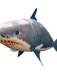 abordables -Requin RC Télécommande Animal Requin volant Poisson clown Gonflable Mouvement réaliste Air Nageur PP+ABS 1 pcs Tous Garçon Fille Jouet Cadeau