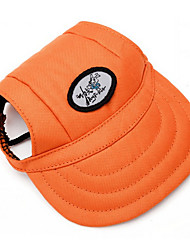 cheap -Dog Jeans / Bandanas & Hats Orange Dog Clothes Winter / Spring/Fall Solid Casual/Daily