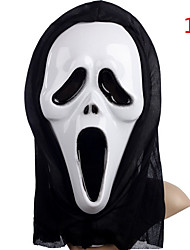 cheap -Death To A Single Horror Ghost Mask Screaming Face Mask Festival Halloween Supplies Festival Mask Party Cosplay