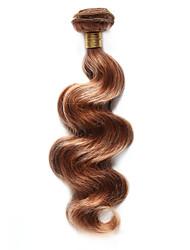 cheap -1pc tres jolie body wave human hair 10 18inch blonde auburn frost color 27 30 human hair weaves