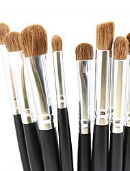 cheap -Professional Makeup Brushes Makeup Brush Set 8pcs Travel Professional Horse Hair Blending Premium flawless Buffing Stippling Pony / Horse for Cream Liquid Powders Eyeshadow Brush Contour Brush Makeup