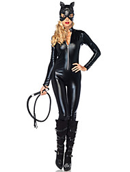 cheap -Women's Uniforms Bunny Girl Sex Zentai Suits Cosplay Costume Solid Colored Leotard / Onesie More Accessories