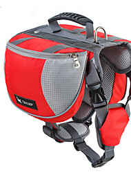 cheap -Dog Dog Pack Pet Carrier Waterproof Orange Red Blue