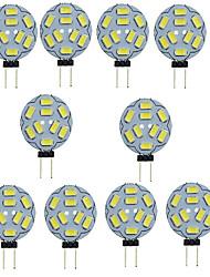 cheap -10pcs 1.5 W LED Bi-pin Lights 150-200 lm G4 T 9 LED Beads SMD 5730 Decorative Warm White Cold White 12 V / 10 pcs / RoHS