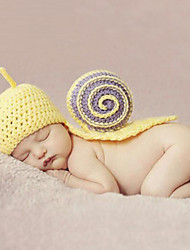 cheap -Newborn Boys' / Girls' Cotton / Roman Knit Hats & Caps Yellow One-Size / Headbands