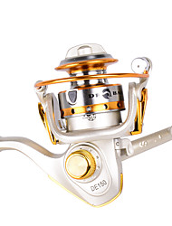 cheap -Ice Fishing Reels 5.2:1 Gear Ratio+10 Ball Bearings Hand Orientation Exchangable Bait Casting / Ice Fishing / Spinning - DE150 / Freshwater Fishing / Carp Fishing / General Fishing